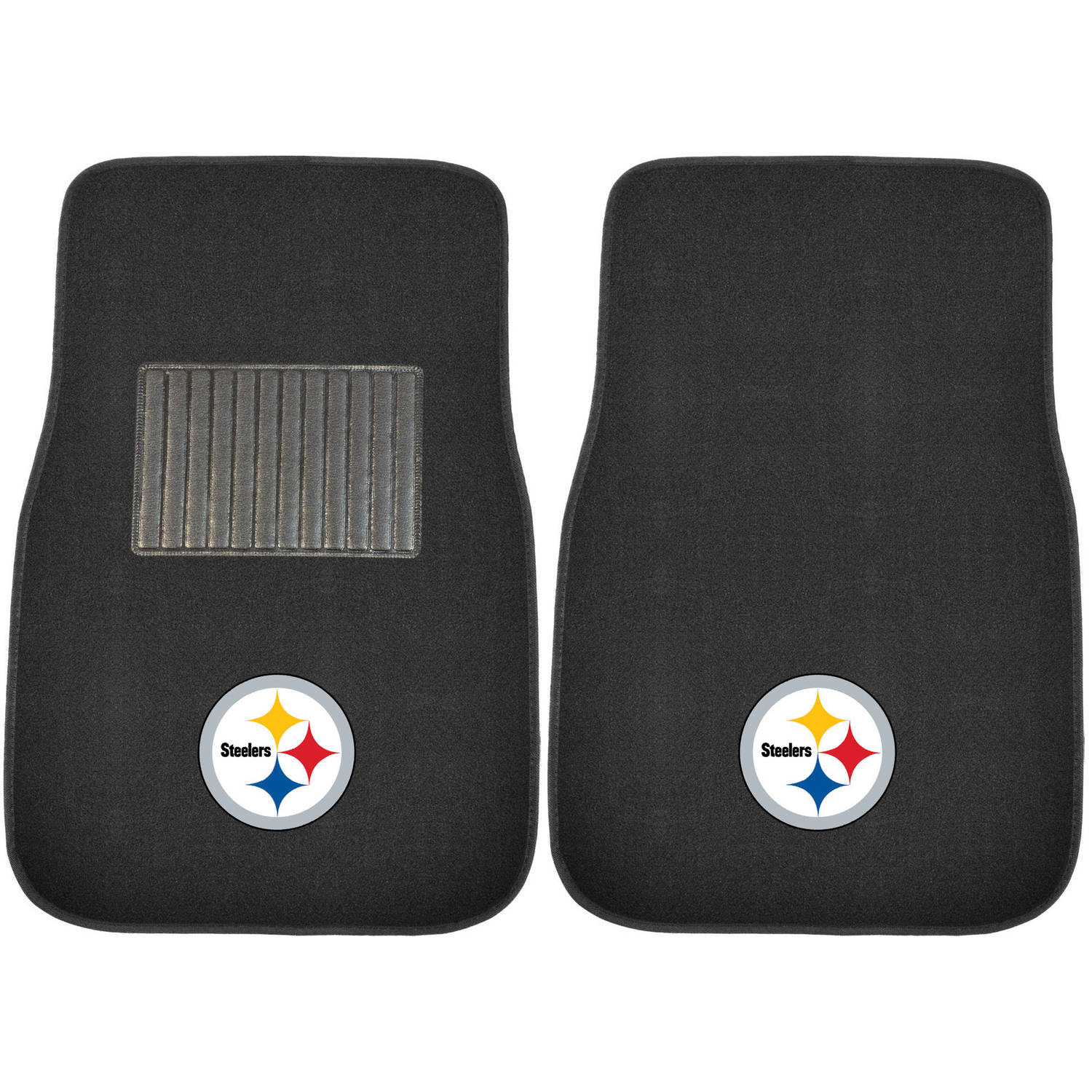 NFL Pittsburgh Steelers Embroidered Car Mats