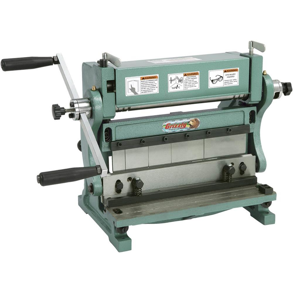 "Grizzly T21320 12"" Combination 3-in-1 Sheet Metal Machine"