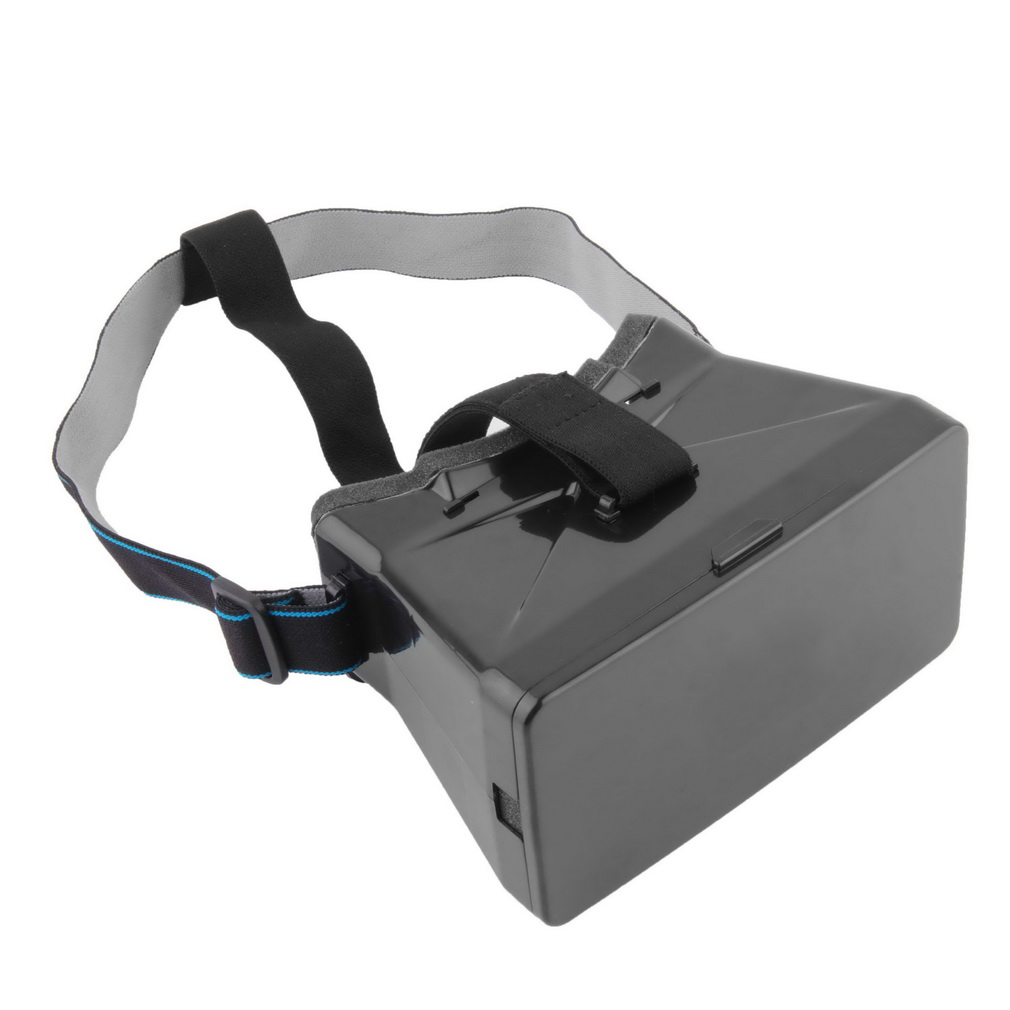 Universal Virtual Reality 3D Video Glasses For Google Cardboard VR 3D Movies Games With Resin Lens For 3.5~6 inch smartphone hot