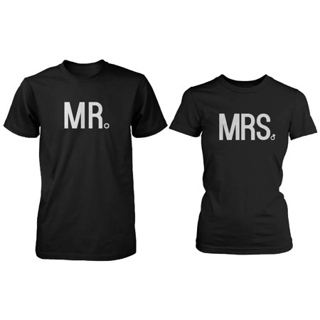 Good Holidays For Couples (Mr and Mrs Matching Couple Shirts Great Gifts for)