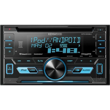 Kenwood Double Din CD Player USB AUX Car Audio Stereo Radio Receiver | DPX302U by