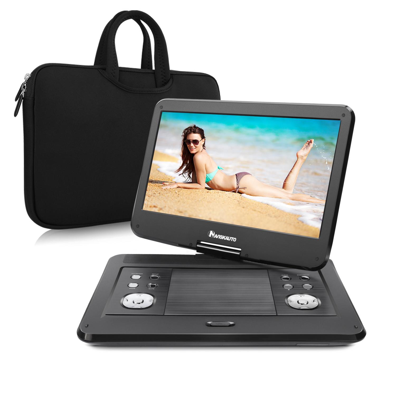 "NAVISKAUTO 14"" Portable  Headrest DVD Player High Resolut..."