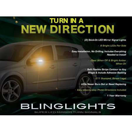 Opel Astra LED Side View Mirror Turnsignals Lights LEDs Turn Signals Lamps Mirrors Light Signalers ()