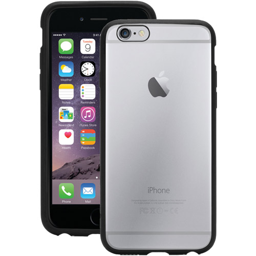 Griffin Griffin Reveal Clear Protective Case with Trim for iPhone 6/6s, Ultra-thin hard-shell case