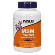 NOW Supplements, MSM (Methylsulfonylmethane) Powder, Supports Healthy Cartilage*, Joint Health*, 8-Ounce