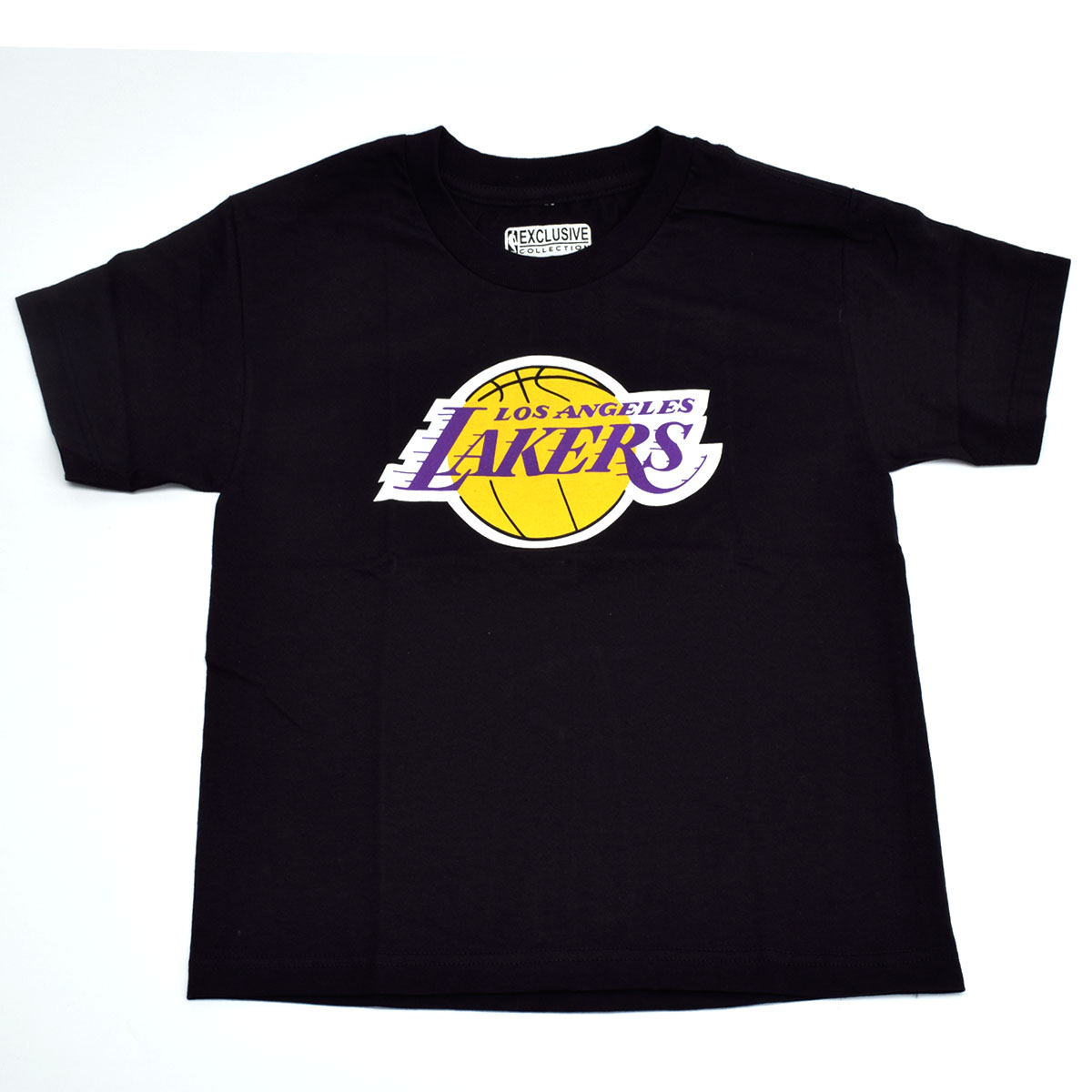 Los Angeles Lakers Youth Primary Logo T-Shirt (Black)
