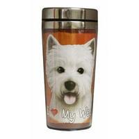 E&S Pets Bichon Frise Travel Mug