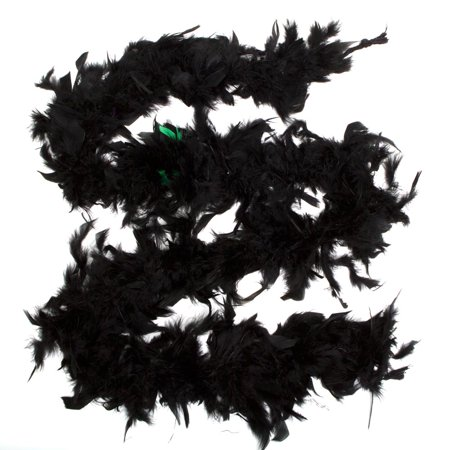 Black Feather Boa (Black Boa Feathers)