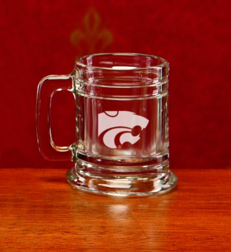 Kansas State Wildcats Deep Etched Colonial Shot Mug