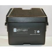 Group U1 SLA / GEL Battery Box for Minn Kota Trolling Motor