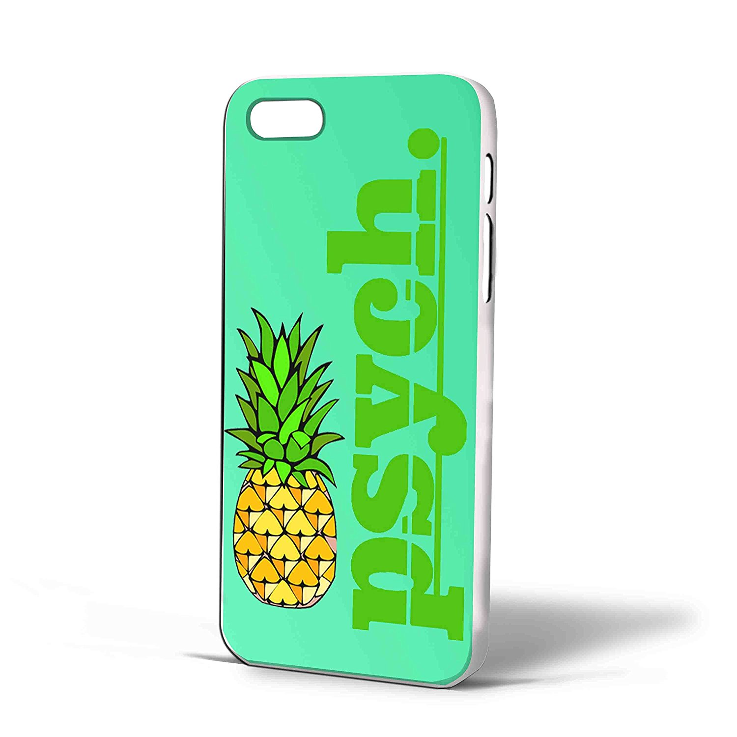 Ganma Psych Pineapple Logo Case For iPhone Case (Case For iPhone 5/5s White)