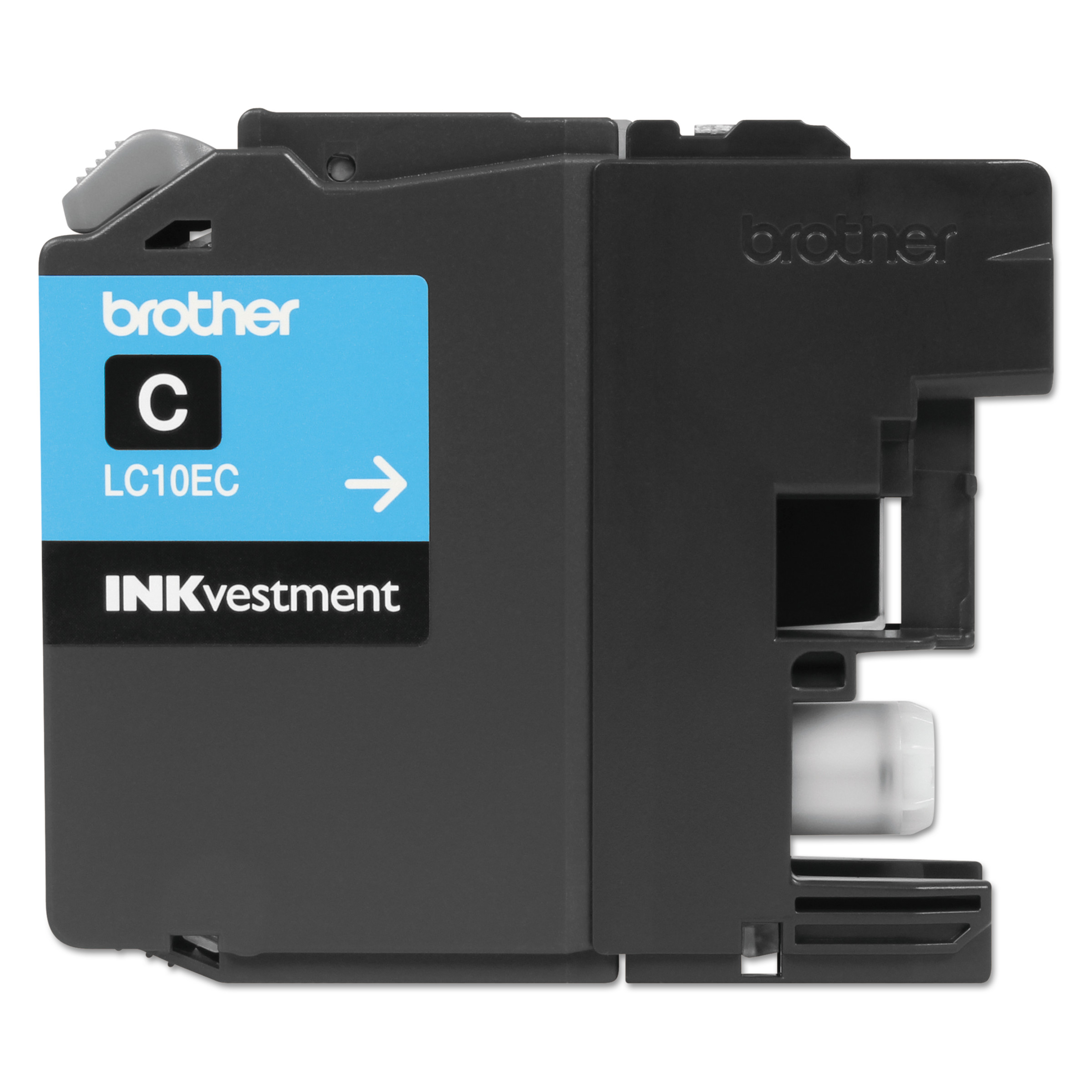 Brother LC10EC INKvestment Super High-Yield Ink, Cyan