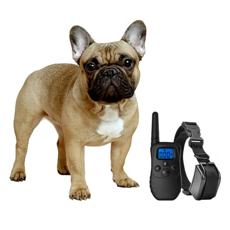 Shock Collar for Small Dogs with Remote + FREE Dog Clicker Training Clicker + Shock Collar = Faster Results - 3 Mode (sound, vibration & shock) - Save Money with Rechargeable