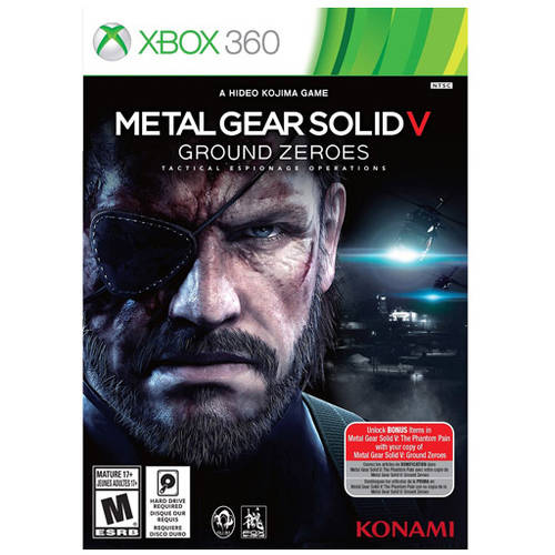 Metal Gear Solid V: Ground Zeroes (Xbox 360) - Pre-Owned