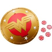 DC Super Hero Girls Wonder Woman Shield with 5-Discs