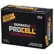 Duracell Procell Alkaline C Batteries 12/Box