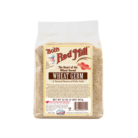Wheat Germ Carrier ((2 Pack) Bobs Red Mill Natural Raw Wheat Germ, 32)