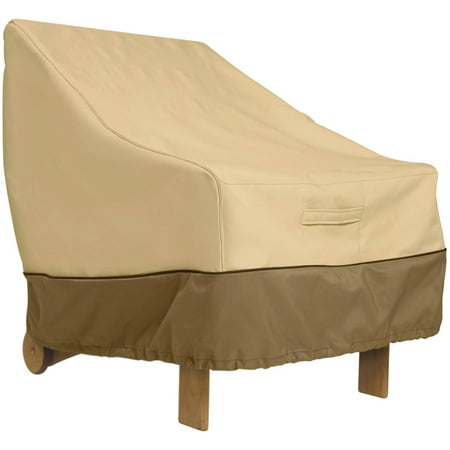 Classic Accessories Veranda Standard Backrest Patio Chair Cover - Durable and Water Resistant ()