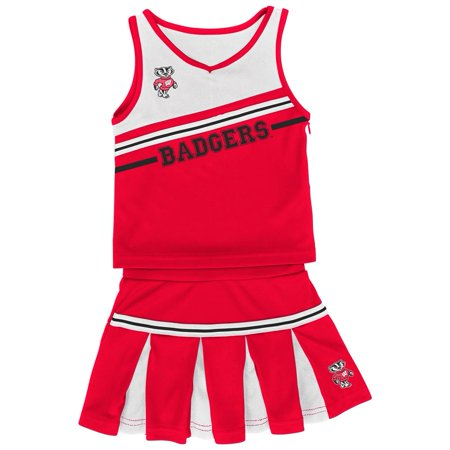 Infant Girls' University of Wisconsin Badgers Cheerleader Outfit - Cowboy Cheerleader Outfit