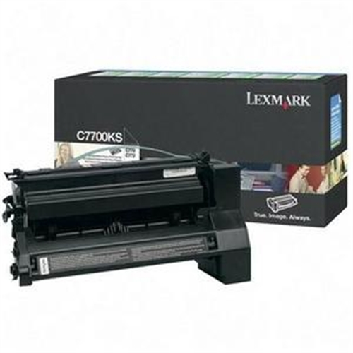 Lexmark C770, C772 Black Return Program Print Cartridge