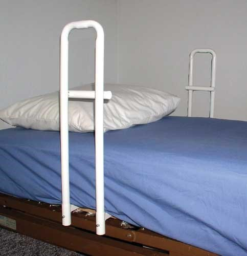 Mobility Hospital Bed Rail Handle Double Handle- Spring S...