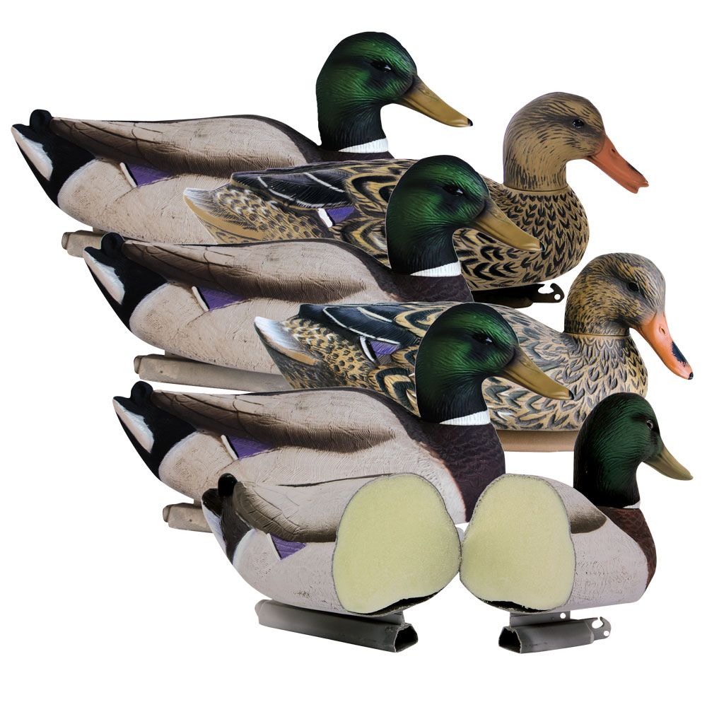 Higdon Magnum Mallard Foam-Filled Decoys (Pk/6)