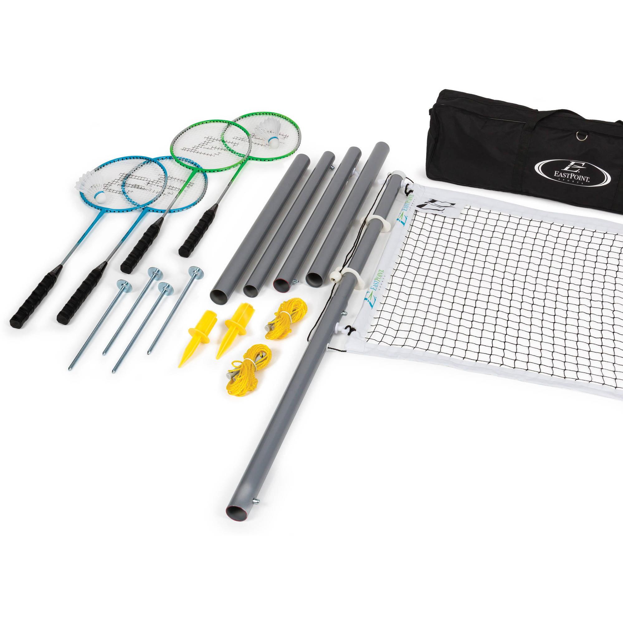 EastPoint Sports Deluxe Badminton Set, Aluminum Poles by Eastpoint Sports