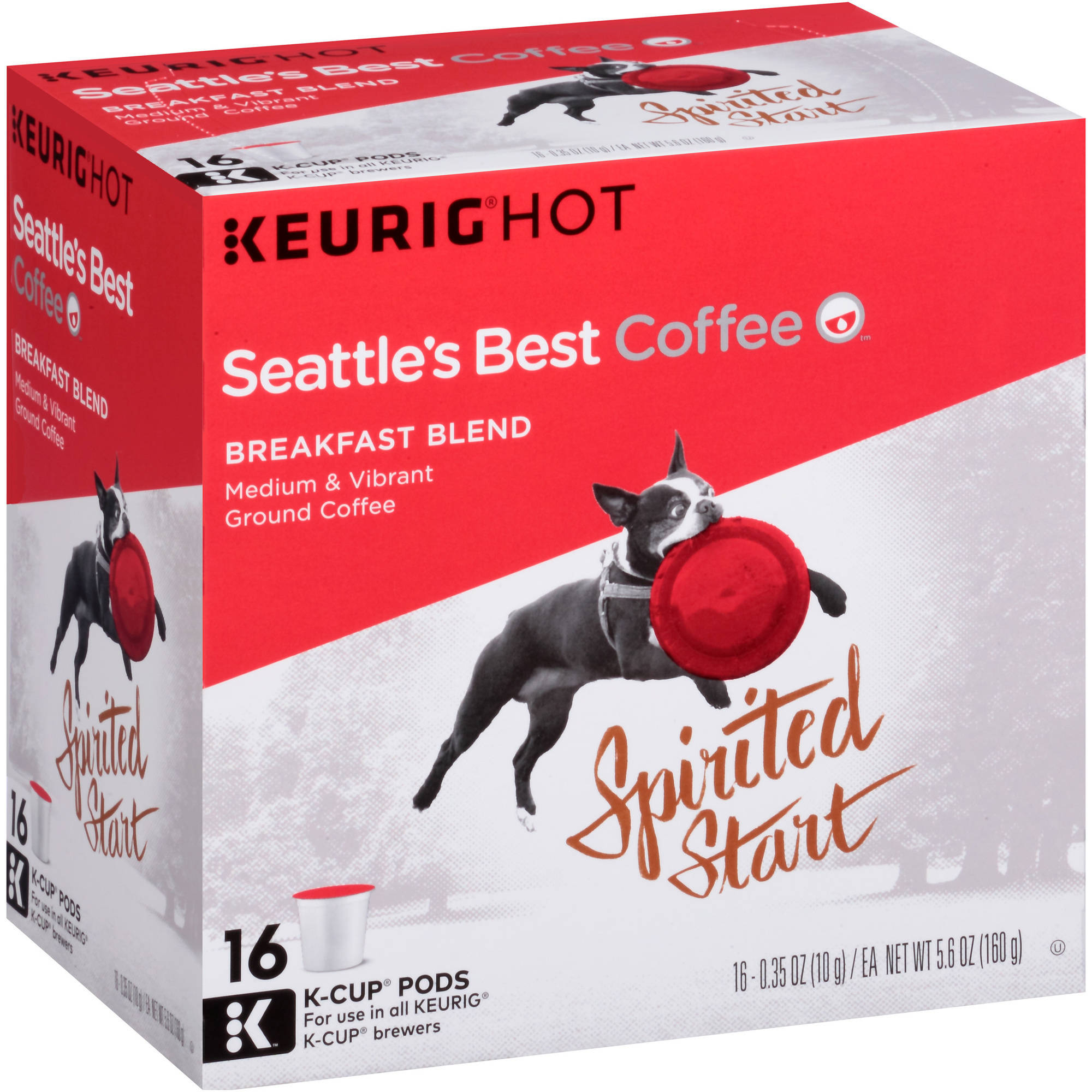 Seattle's Best Coffee��� Breakfast Blend Medium & Vibrant Coffee K-Cup�� Pods 16 ct Box