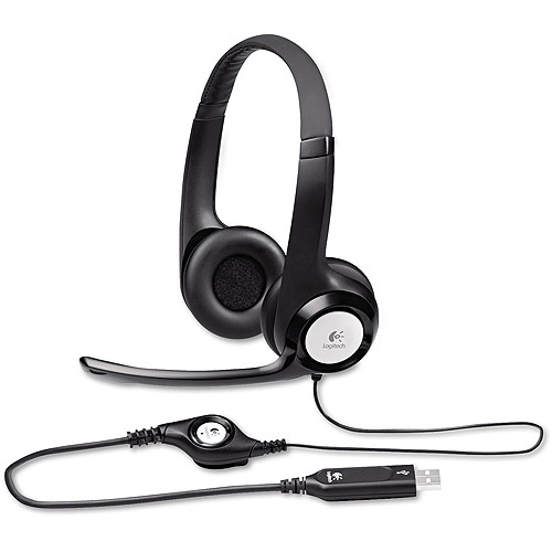 Logitech USB ClearChat Comfort Headset for PC