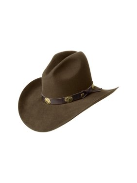 147921a783e Product Image Bailey Cowboy Hat Mens Conchos Wool Gus Crease Tombstone  W0602G. Bailey Western
