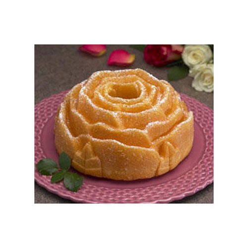 Nordic Ware Platinum Rose Bundt Pan