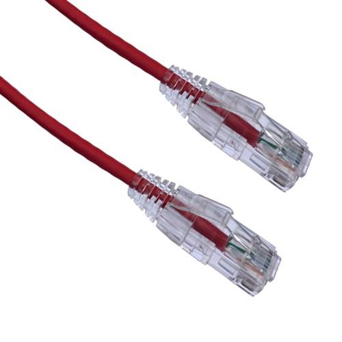 AXIOM 90FT CAT6A BENDNFLEX ULTRA-THIN SNAGLESS PATCH CABLE 650MHZ (RED) AXIOM 90FT CAT6A BENDNFLEX ULTRA-THIN SNAGLESS PATCH CABLE 650MHZ (RED)