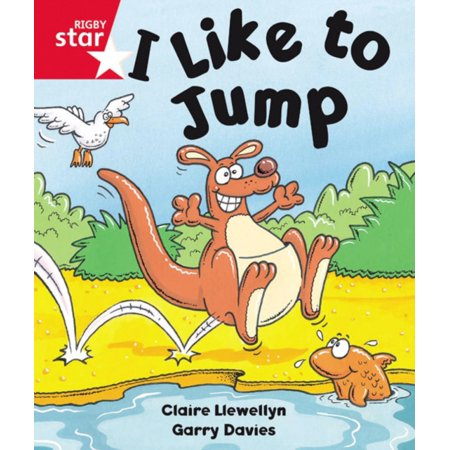 - Rigby Star Guided Reception: Red Level: I Like to Jump Pupil Book (Single) (Paperback)