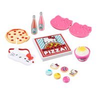 "My Life As Hello Kitty Sleepover Accessories Play Set for 18"" Dolls, 14 Pieces"