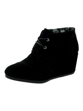 78ffba70619 Product Image TOMS Women s Desert Wedge Black Suede Boot 5 B ...