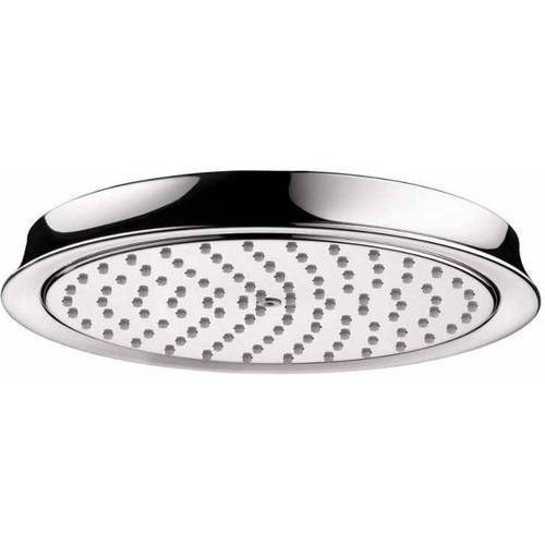 Hansgrohe 28421921 Raindance C 2.5GPM Single Function Rain Shower Head with AirPower Technology, Various Colors