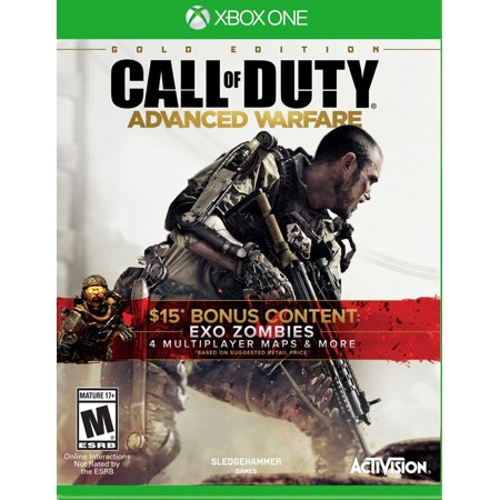 Activision XB1 Call of Duty: Advanced Warfare (Gold Edition) (Call Of Duty Advanced Warfare App)