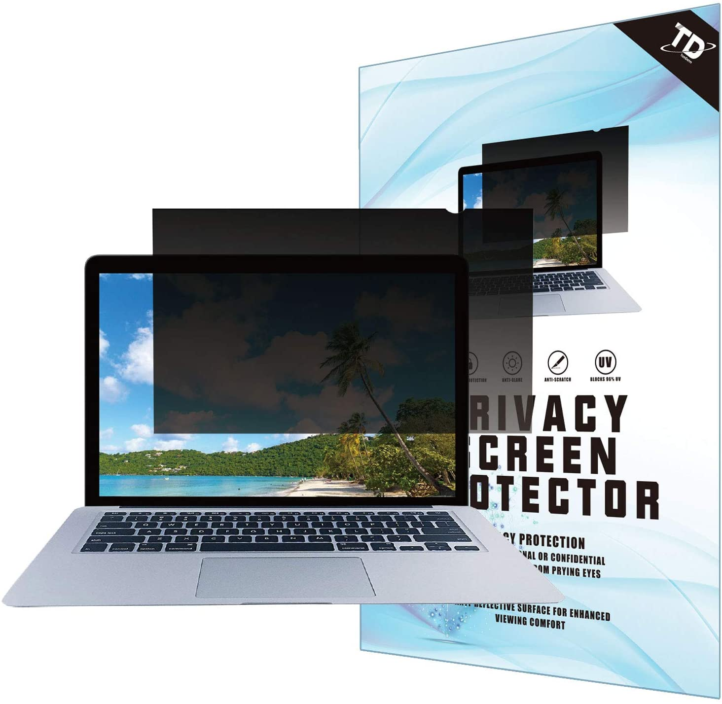 Anti-Glare 12.5W Inch Privacy Screen Filter for Widescreen Laptop Blocks 96/% UV,Anti-Scratch with 16:9 Aspect Ratio