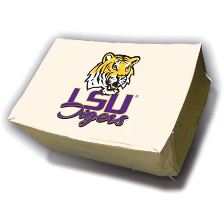 NCAA Mr. Bar-B-Q Rectangular Table Cover, Louisiana State University Tigers ()