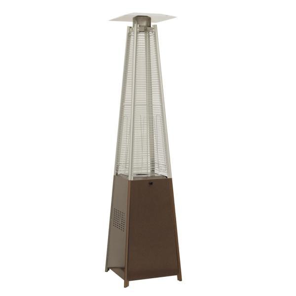 Hampton Bay 42,000 BTU Pyramid Patio Heater Outdoor Heaters Patio ...