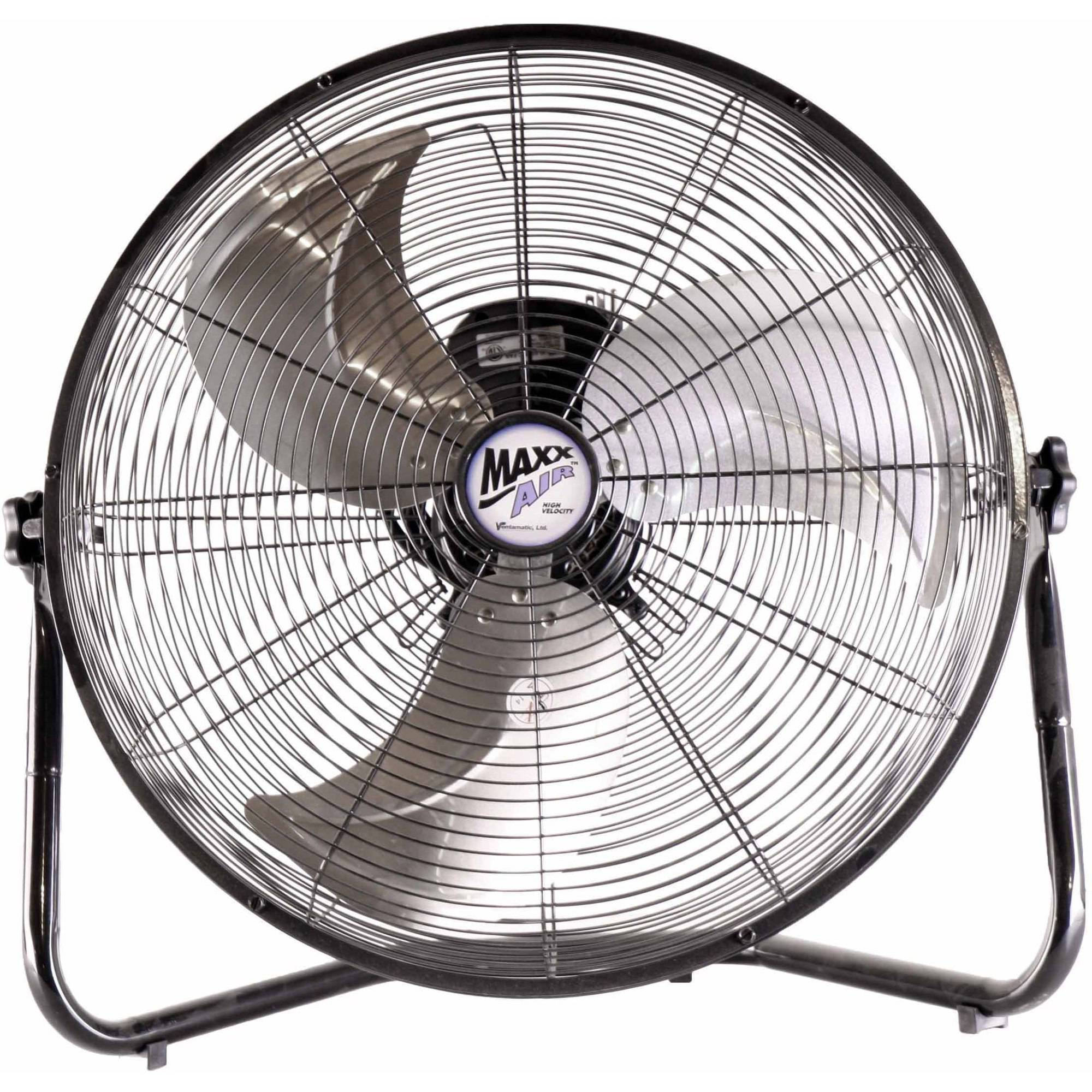 "MaxxAir 20"" High Velocity Floor Fan"
