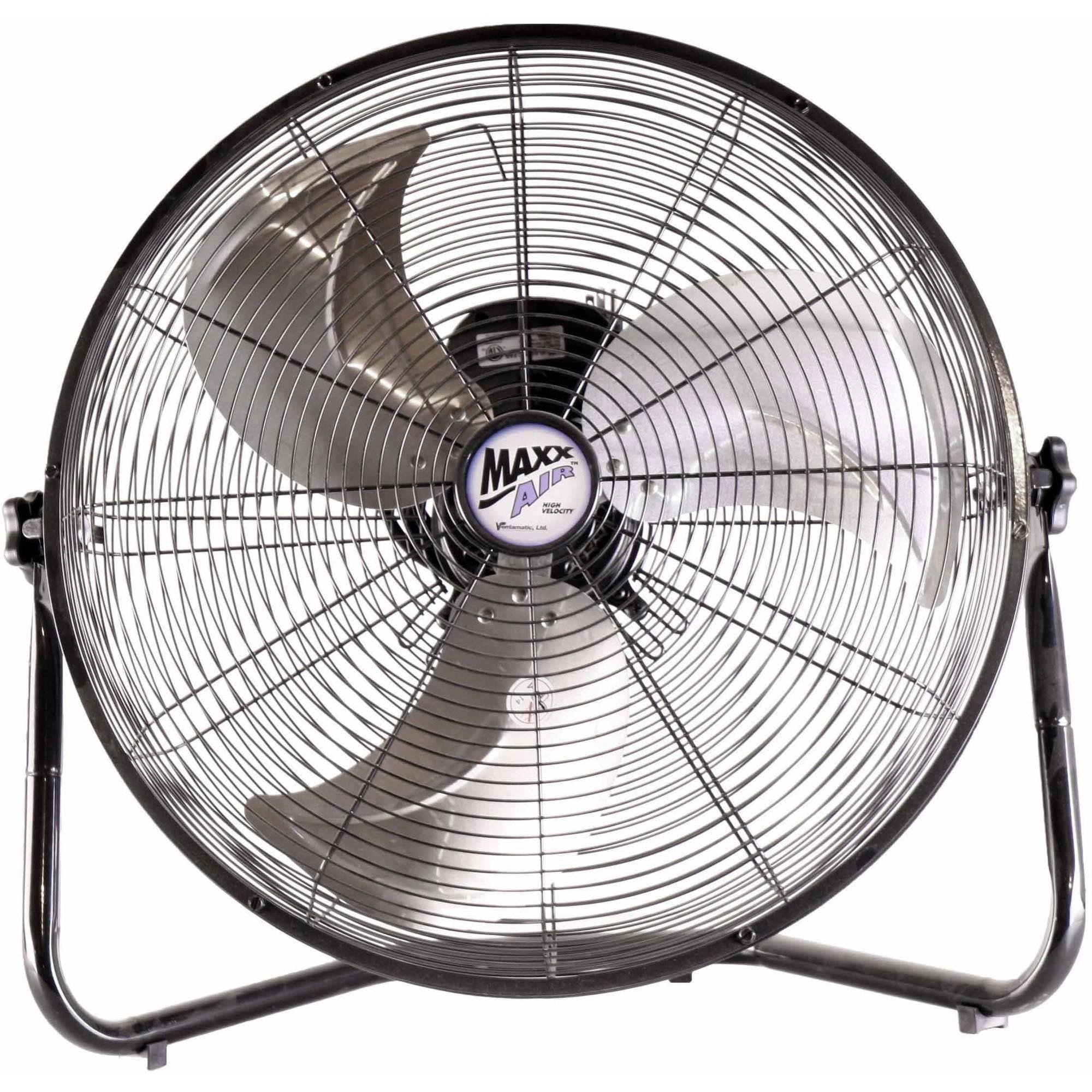 """MaxxAir 20"""" High Velocity Floor Fan"""