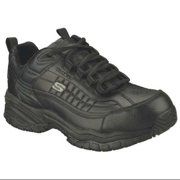 Skechers Size 7 Steel Toe Athletic Style Work Shoes, Men's, Black, M, 76760 -BBK SZ 7