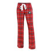 Ladies Capitvate Flannel Georgia Bulldogs UGA Pajama Pants