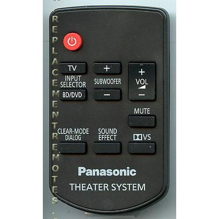 Panasonic Voice Processing System Control (Panasonic N2QAYC000027 (p/n: N2QAYC000027) Sound Bar System Remote Control)