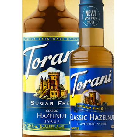 Torani Sugar Free Classic Hazelnut