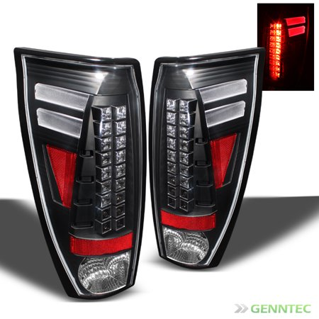 2002 2006 chevy avalanche led black tail lights lamps rear. Black Bedroom Furniture Sets. Home Design Ideas