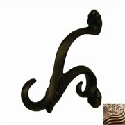 Anne at Home 7108-3 Toscana Hook in Rubbed Bronze