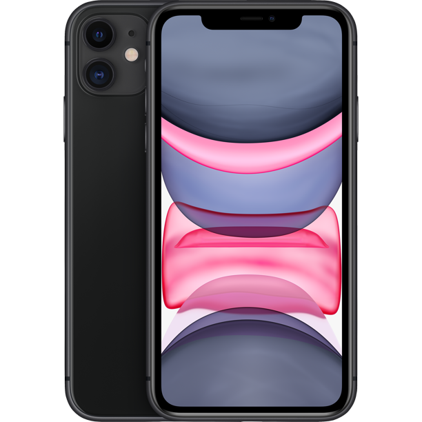 Straight Talk Apple iPhone 11 Prepaid with 64GB, Black
