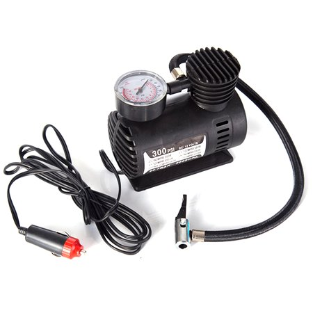Car Mini Electric Inflation Pump Portable Tyre Air Inflator 300PSI Auto Compressor Pump for Car Bicycle Motorcycle